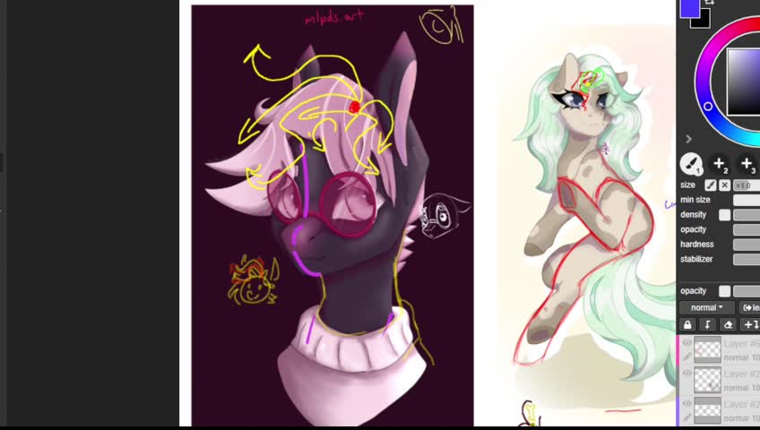 MLP Drawing School does the thing!